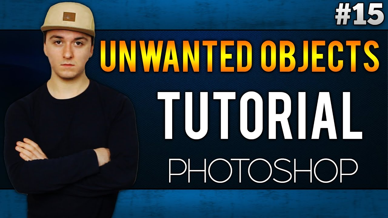 how to delete object on photoshop