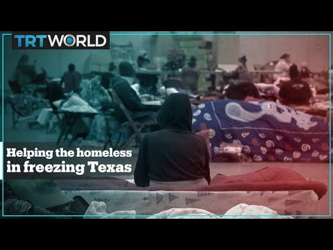 Texas Shelters Save Lives Of Homeless During Extreme Cold Weather
