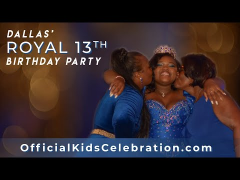 Dallas' Royal 13th Birthday Party - Hosted By OfficialKidsCelebration.com