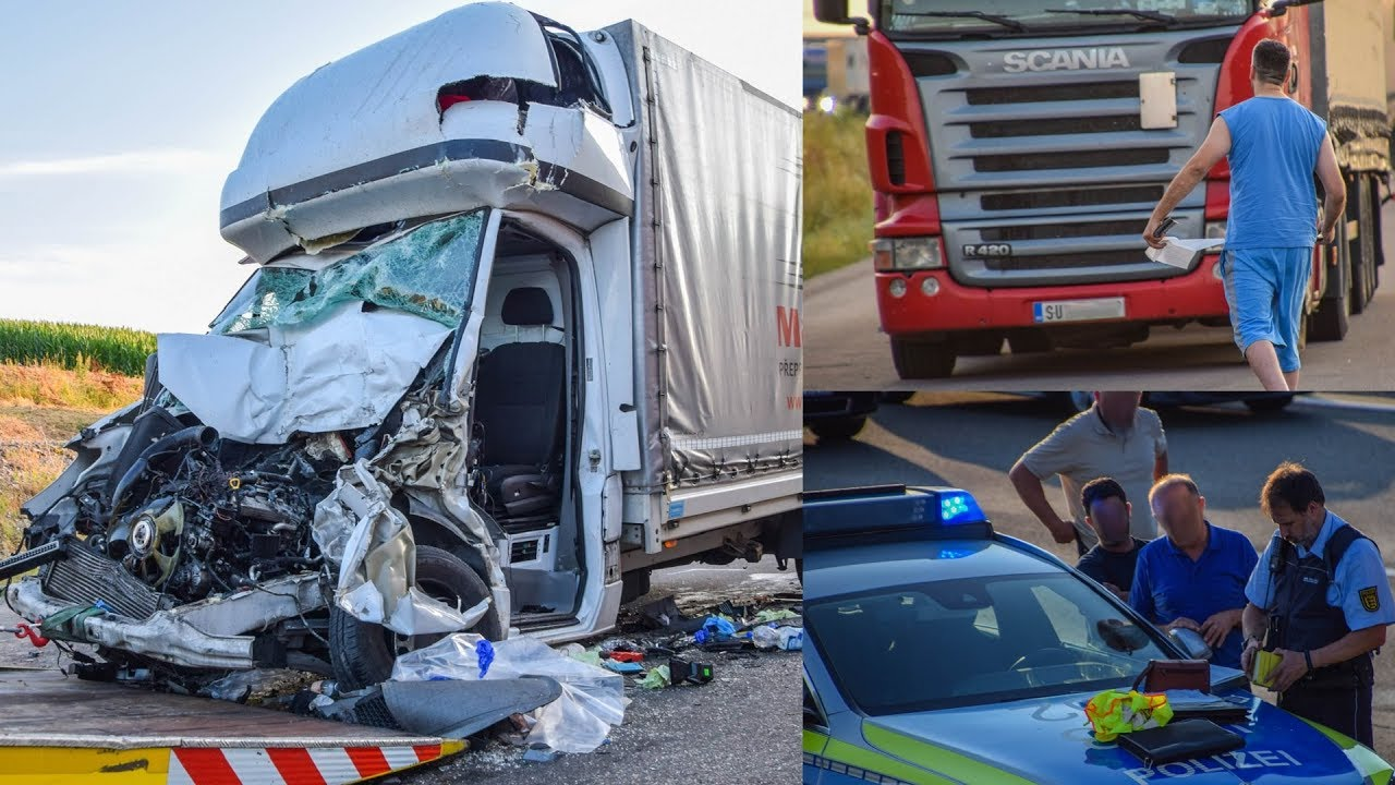 Unfassbar Trucker Bespuckt Feuerwehr Bei Tödlichem Unfall Auf A6 Polizei Ist Sprachlos