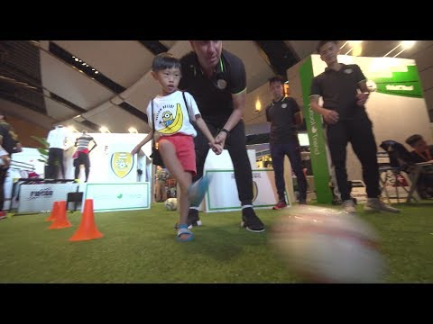 Perfect try-out for new stars of the sports industry
