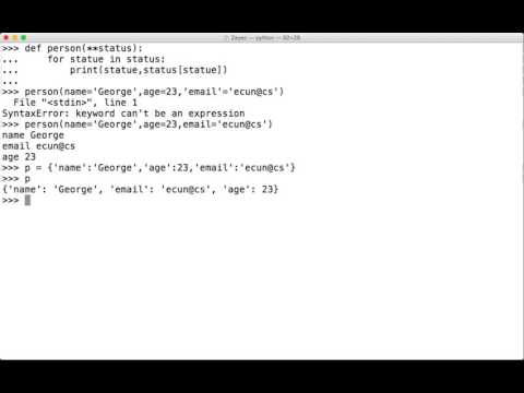 CSC 372 Python Asterisk(*) usage
