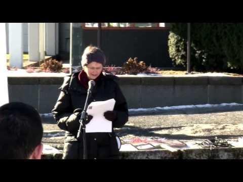 Demonstrasjon til støtte for Hazara-folket