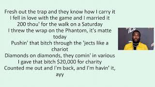 Calboy Chariot lyrics ft Meek Mill Lil Durk Young Thug