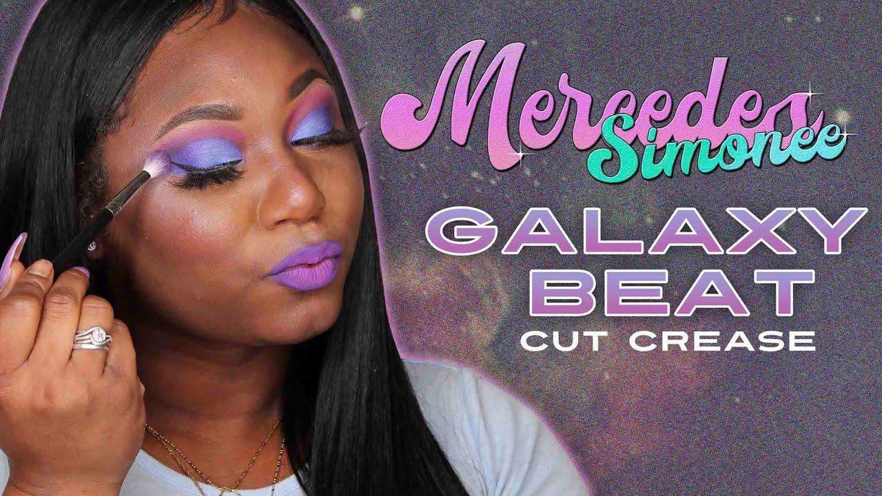 Smokey Eye Galaxy Cut-Crease Tutorial