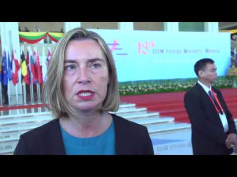 Statement by the High Representative F. Mogherini ahead of the 13th ASEM Foreign ministers meeting