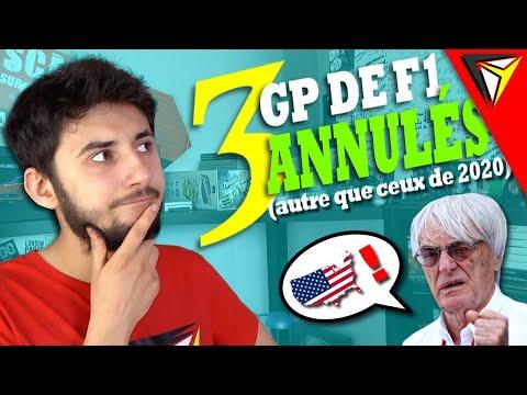 3 GP de Formule 1 ANNULÉS (autre que ceux de 2020) [VDV #3]