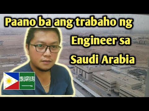 Paano ba ang Trabaho ng Engineer sa Saudi Arabia (Engineer's job in KSA)