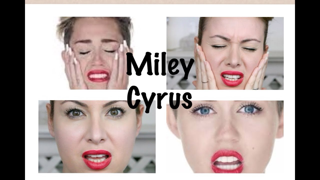 Miley Cyrus Wrecking Ball Makeup Hair Tutorial Jadorelemakeup In Miley Cyrus Style Youtube
