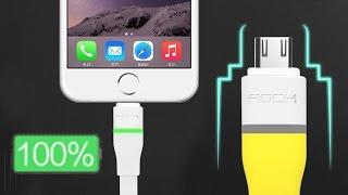 Интеллектуальный USB кабель для зарядки.(, 2016-11-29T10:35:16.000Z)