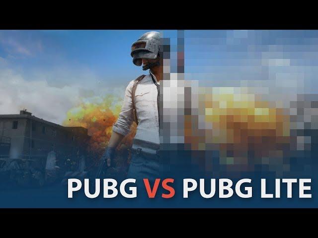 PUBG vs PUBG Lite