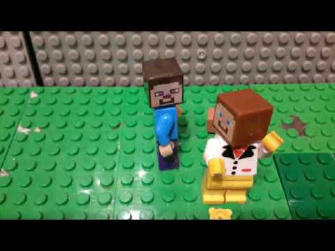 Pic-pac stop motion Lego minecraft ...
