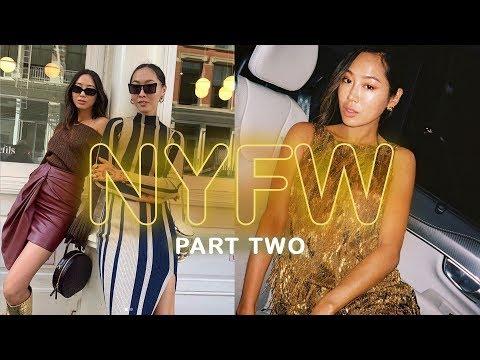 NYFW Part 2: New SOS pieces, Janelle Monae at Ralph Lauren & Self-Portrait   Aimee Song thumbnail