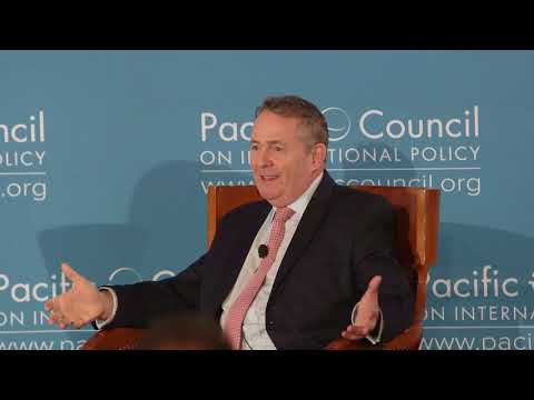 UK Secretary of State for International Trade Liam Fox on Brexit at the Global LA Summit