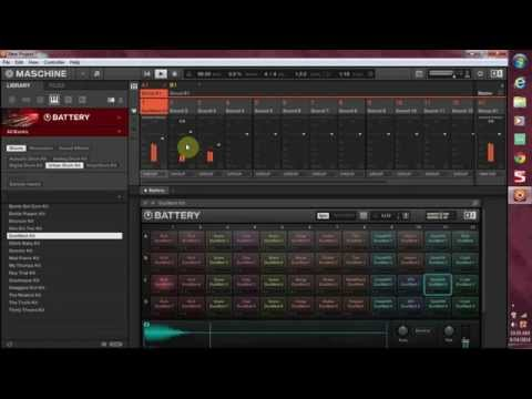 How to Route NI Battery 4 to Pads in Maschine 2.0