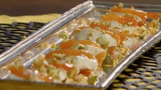 Apricots With Orange Blossom Water With Anjum Anand