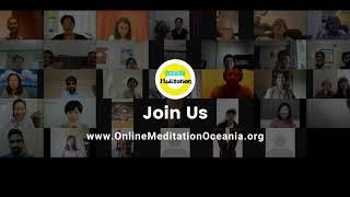 Monica's Meditation Story shared on Online Meditation Oceania session