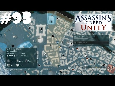 Baús sul de Paris, distrito Les Invalides - #93 - Assassin's Creed Unity PS4 - Rumo a Platina/100%