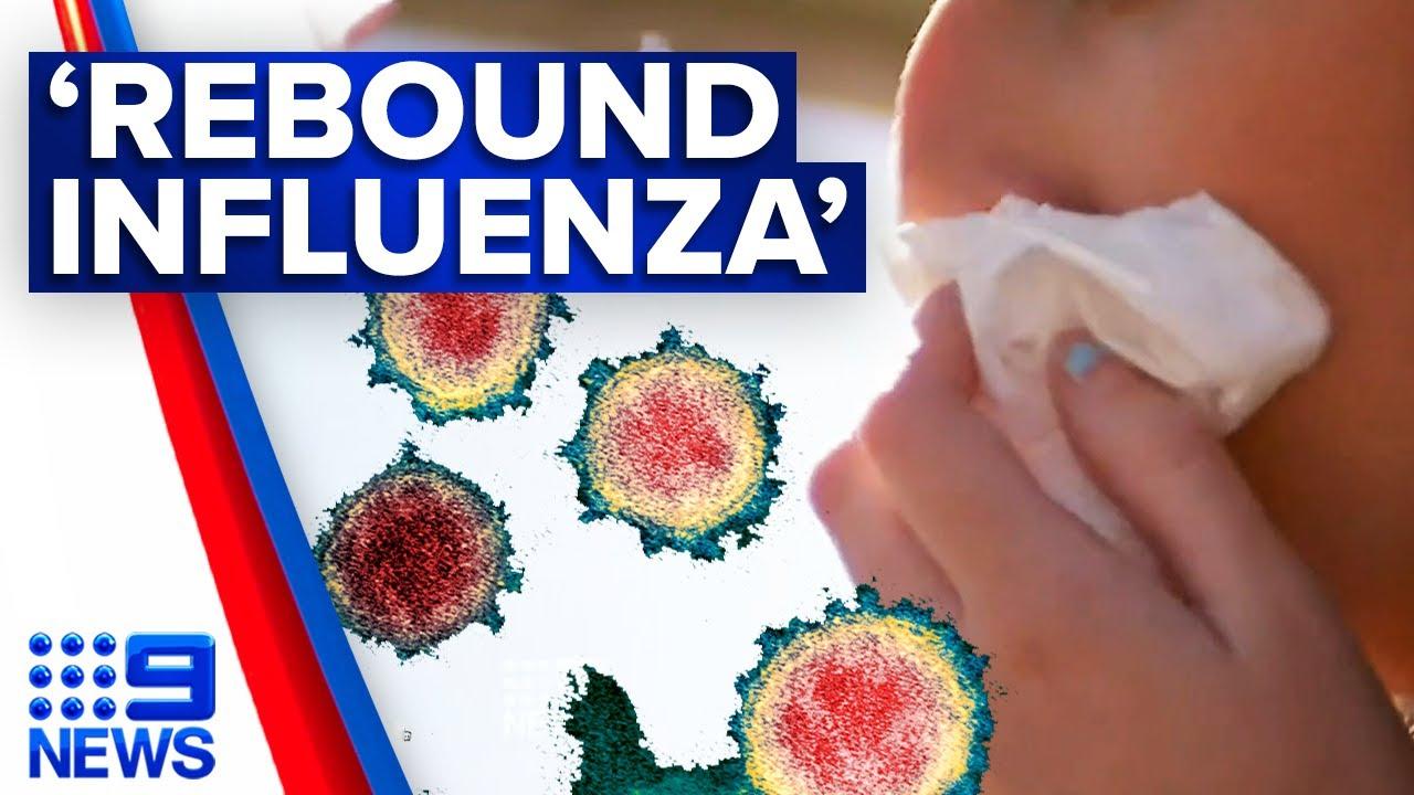 Concerns of 'rebound influenza' this flu season   9 News Australia