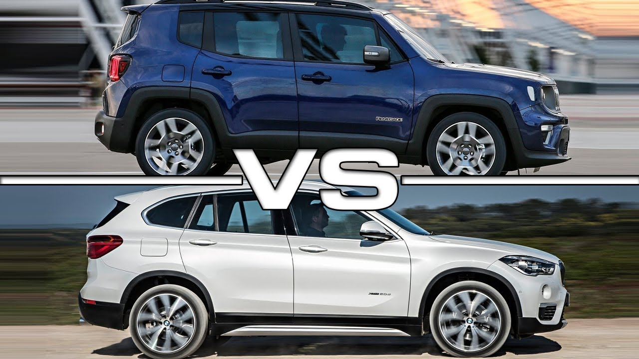 2019 Jeep Renegade Vs 2018 Bmw X1 Technical Specifications