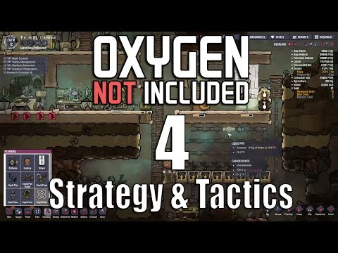 Oxygen Not Included Strategy & Tactics 4: The Main Six