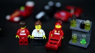 Lego 30190 Ferrari 150 Italia 30193 250 GT Berlinetta 30195 FXX 30196 Shell F1 Team Review