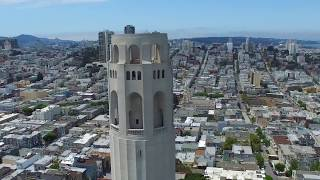 Coit Tower 4K San Francisco Highlight Clip via the DJI Inspire 1