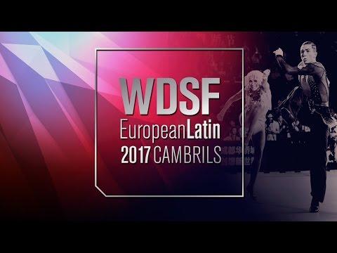 Bures - Iermolenko, CZE   2017 EU Latin Cambrils   R1 C   DanceSport Total