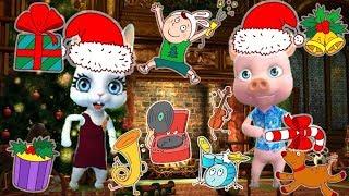 Zoobe Зайка Новогодняя дискотека от Зайки, Добрые песни на Новый год!