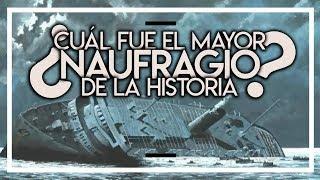 ¿CUÁL FUE EL MAYOR NAUFRAGIO DE LA HISTORIA?: LA TRAGEDIA DEL WILHELM GUSTLOFF ⛴️💥