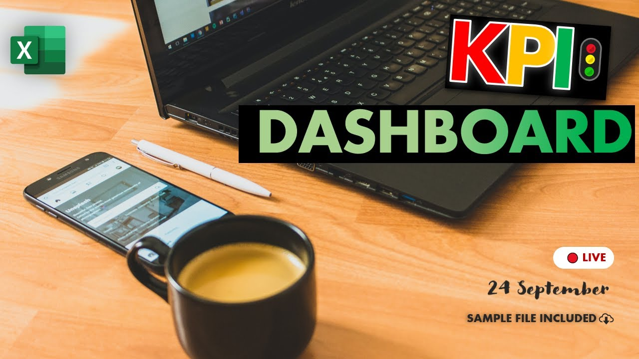 Download How to create a dynamic KPI Dashboard in Excel - FREE Masterclass