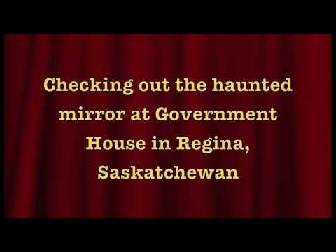 Haunted Mirror in Government House, Regina, Saskatchewan