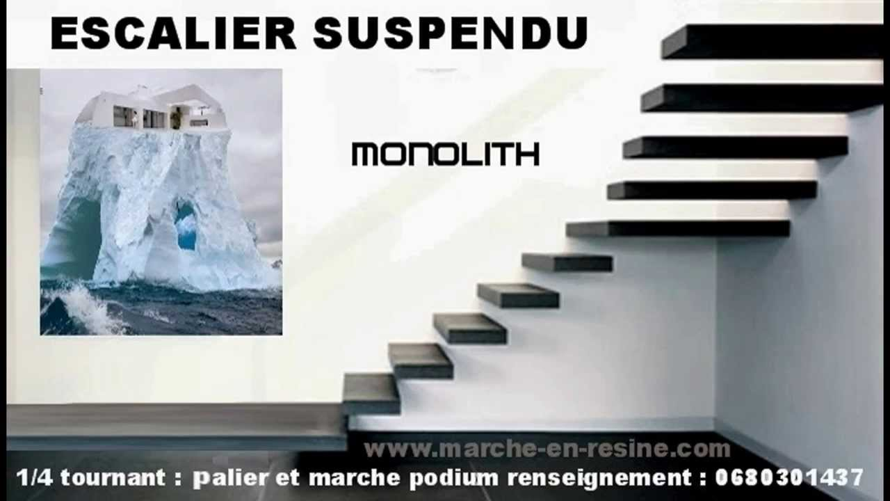 monolith le sp cialiste de l 39 escalier suspendu avec. Black Bedroom Furniture Sets. Home Design Ideas