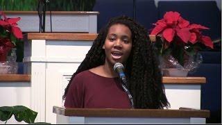 Olivia Gordon @ Prayer Tabernacle Church