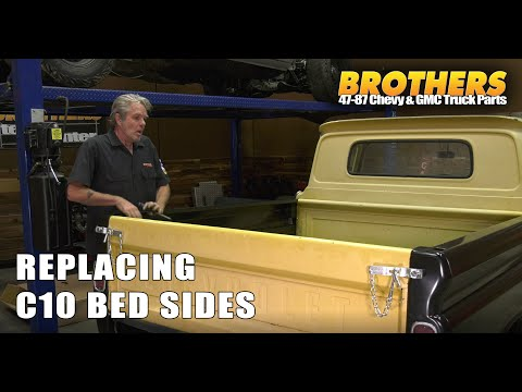 Chevy & GMC Truck Bed Side (Bedside) Replacement/Swap/Installation