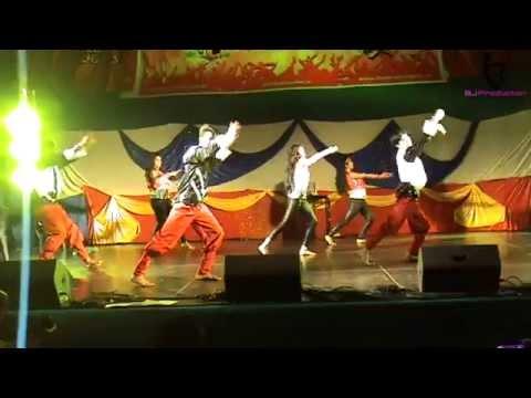 malang malang dance performance at Diwali Dublin