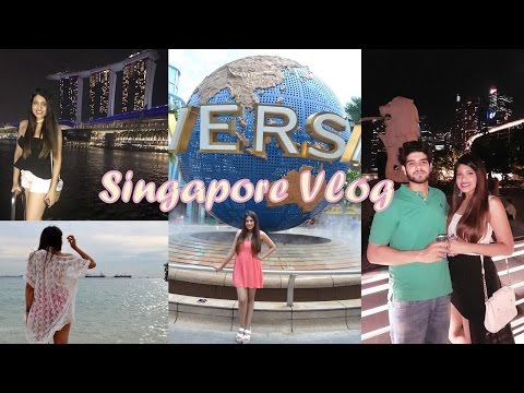 SINGAPORE TRAVEL VLOG 2017 | Tanisha Aggarwal