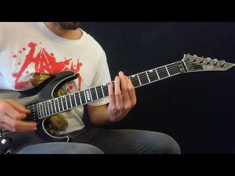 Angelus Apatrida - Immortal Guitar Cover HD (with solos)