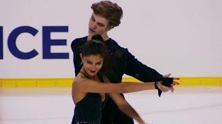 Софья Тютюнина Александр Шустицкий Ритм танец Гран при по фигурному катанию 2021 22