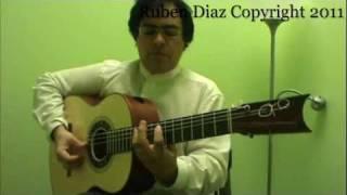 Cante 1 (Sing) Flamenco Tangos Accompaniment Guitar Lesson GFC estudio Malaga Ruben Diaz