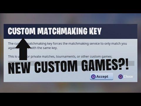 fortnite custom matchmaking guide