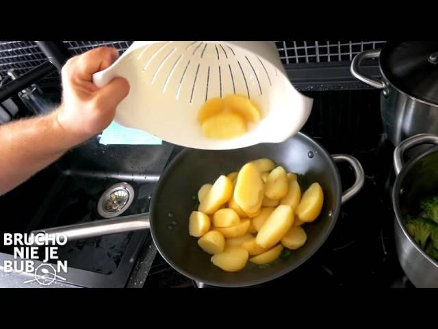 #38 Makrela na ni?om so zemiakmi a brokolicou (Brucho nie je bubon)