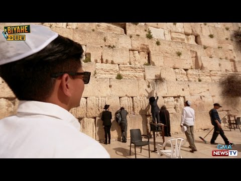 FULL EPISODE: Biyahe ni Drew in Israel Part 2