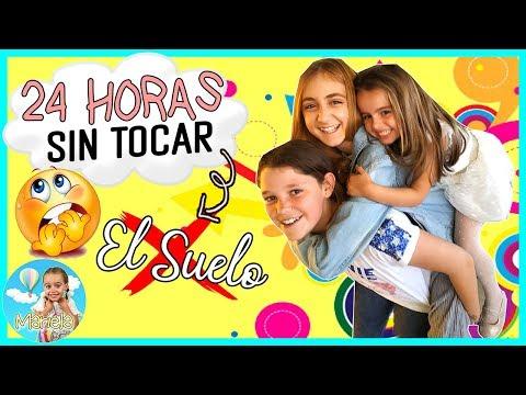 ⏰24 HORAS 💥SIN TOCAR El SUELO💥con LADY PECAS De (THE CRAZY HAACKS) Y SILVIA SANCHEZ + Firma Libro