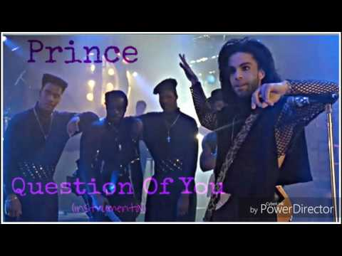 Prince - Question Of You (Instrumental) Loop