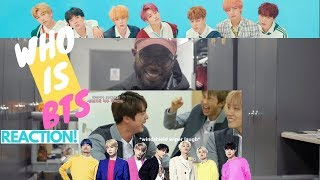 Gambar cover AMERICAN ARTIST Reacts to WHO IS BTS!!!!!