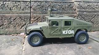Hummer Military Vehicle at Ancient Temple by RC Cars Lover