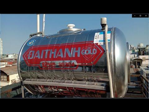 Lắp bồn nước, Hàn chân sắt cấp cho máy nước nóng năng lượng mặt trời đúng Kĩ thuật