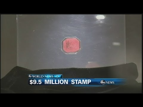 WEBCAST: Stamp Sells for $9.5Million