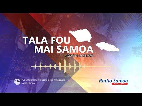 News from Samoa - 06 MAY 2021 - Radio Samoa